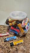 Savex Counter Jar Lip Balm Sticks 36ct