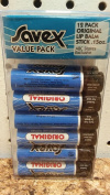 Savex Value 12 Pack Original Lip Balm Stick .440ml
