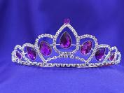 Purple Amethyst Princess Sofia Tiara CT39