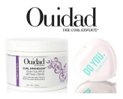 Ouidad CURL IMMERSION Silky Souffle Setting Creme (with Sleek Compact Mirror)