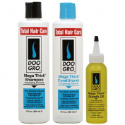 "Doo Gro Mega Thick Shampoo + Conditioner + Growth Oil ""Set"""
