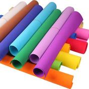 Bureze 50X50CM EVA Sponge Foam Paper Fold Scrapbooking Paper Baby Kid Craft DIY Handicraft Colour Optional