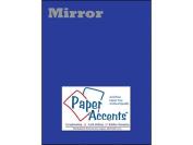 Accent Design Paper Accents Cdstk Mirror 8.5 x 11 13pt Blue