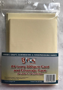 Pack Of 6 Stix 2 Ivory / Cream 15cm x 10cm A6 Blank 300gram Cards For Card Making