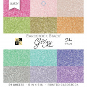 American Crafts Dcwv Cardstock Stack, Multi-Colour, 17.78 x 15.24 x 2.54 cm