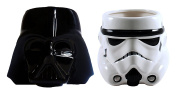 Star Wars Sculpted Coffee Mug with Darth Vader and Stormtrooper
