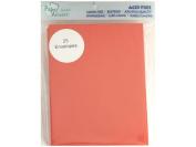 Accent Design Paper Accents ADPA2-25.101 11cm x 15cm Red Envelope