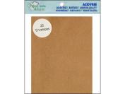 Accent Design Paper Accents ADPA2-25.357 11cm x 15cm Brown Bag Envelope