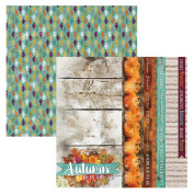 Paper House Productions P-2117E 30cm double Sided Scrapbook Papers, Autumn Air