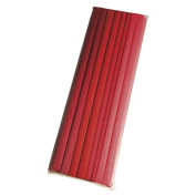 Rayher 73136000 8-roll crafting crepe set in 4 red colour tones, 250 x 50 cm, 30 g/m²