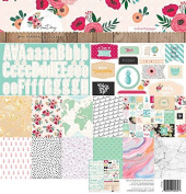 A new day Webster's Pages 30cm x 30cm . Scrapbooking Paper Pad