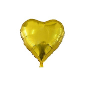 ZHUOTOP 25cm Balloon Heart Wedding Aluminium Foil Balloons Inflatable Gift Birthday Baloon Party Decoration Gold