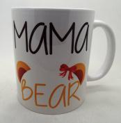 Mummy Bear Mug Coffee Tea Cup Cute New Mum Gift Mum To Be Present 330ml mug