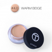 Concealer Cream, O.TWO.O Long-lasting Waterproof Moisturising Full Cover Freckle Black Eye Lip Base Contour and Highlighting Makeup Kit Contouring Foundation