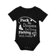 squarex Baby Clothes, Baby Boys Girls Romper Bodysuit Jumpsuit Sunsuit Clothes