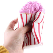 Jumbo Popcorn Squishy Toy Mini Kawaii Squishy Squeeze Depression Healing Fun Charm Slow Rising Simulation Kids Toy Adult Stress Reliver Relief Prime