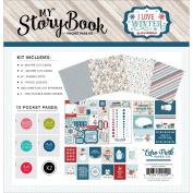 Echo Park Paper Company ILW115039 I Love Winter Pocket Page Kit