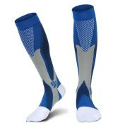 Compression Socks for Men and Women Graduated Athletic Sport Socks for Running, Biking, Hockey, Baseball, Flight Travel, Nurse, Maternity Pregnancy-