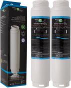 2x FilterLogic FFL-110B Water Filter Compatible with UltraClarity 00740560 740560 / 644845 for BOSCH SIEMENS Neff Gaggenau MIELE / HAIER 0060820860 RF-2800-13 / Rangemaster Ultra Clarity refrigerator