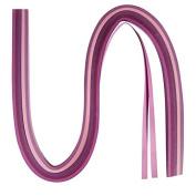 Quilling Paper (100 Strips) Purple Tones Assorted colours 6 mm x 53 cm/110 g m²