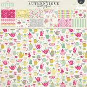 Authentique Paper Double-Sided Paper Pad 30cm x 30cm 2-Infused