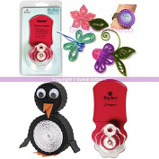 Quilling Tool Crimper, Corrugated Paper Strips