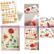 130cm Quilling Template Board with Cork Plate and 30 pins