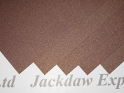 Brown Gold Metallic Shimmer Paper 2 Sided 120gsm x25 for Scrapbooking AM79