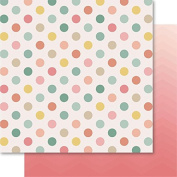 Bella! Rustic Charm Double-Sided Cardstock 30cm x 30cm -Spotted