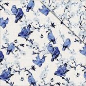 FabScraps Blue Birds-Floral Delight Paper