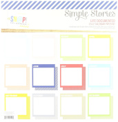 Simple Stories SNAP7000 Paper Pack 30cm x 30cm 12 kg