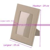 Large Glass Photo Frame, 24 cm high, 16 cm Rectangular Insert Card for Crafts