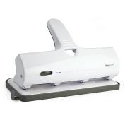 Rapesco ALU 40 Heavy Duty 4-Hole Punch - White