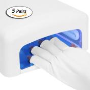 Anti UV Gloves Radiation Protection Photo Therapy Manicure Nail Polish Nail Art Dryer Tools