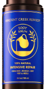 100% Organic Therapy Foot butter Balm treatment to heal, repair, Smooth, soften dry cracked peel callus skin on feet. Natural heels cream Moisturiser for soft and healthy feet care for men and women