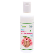 MSM Foot Cleansing Gel for Soft Crackless Feet & Pedicure