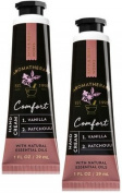 Bath and Body Works 2 Pack Aromatherapy Comfort Vanilla Patchouli Hand Cream. 30ml