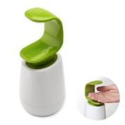 OUBORUI C Shape Liquid Soap Dispenser Reusable Bathroom Kitchen Hand Wash Pumps Lotion Holders