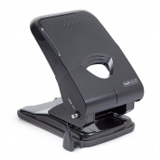Rapesco X5-50Ps Less Effort Heavy Duty Hole Punch (50 Sheets) Black