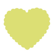 """Details about Large Craft Punch 3"""" (7.5cm Scalloped Heart) Card Making Embelishments Tag"""