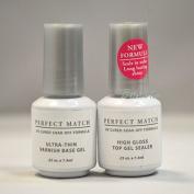 Lechat Perfect Match High Gloss Top Gel Sealer + Untra-Thin Base Gel 5ml