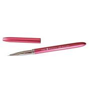 Winstonia Kolinsky Sable Nail-Art Detail Brush #0000 w/ Aluminium Handle and Cap