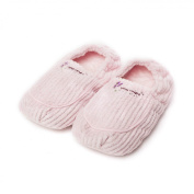 Intelex Warmies Spa Therapy Slippers Pink