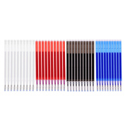Fityle 40 Pieces Heat Erasable Refill Pen Heat Vanishing Fabric Markers for DIY Leather Textile