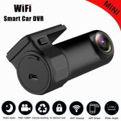 Aurora HD 720P DVR Vehicle Dash WIFI Car Digital Recorder Video Player Night Vision Camera