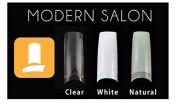 LAWholesaleStore Decori Adoro Acrylic False Tips Nail Art CLEAR - Modern Salon 500 pcs . mia secret