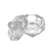 Nail Tools Crystal Glass Dappen Dish Cup Nail Art Acrylic Liquid makeup Powder Nail Styling Tool Beauty & Health