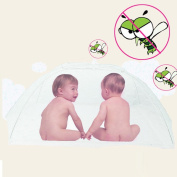 Baby Mosquito Mesh,Mosquito Net Bed Canopy Pop Up Foldable Double Door Easy to Setup with Bottom Anti Mosquito Bites for Bed Camping Travel Home Outdoor