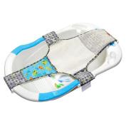 pinnacleT1 Adjustable Baby Bath Seat Newborn Baby Shower Network Bath Rack Baby Bath Adjustable Sling Anti-Slip Safety Bed