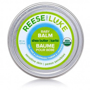 Reese and Luke's - Shea Butter Baby Balm, 40ml, Tea Tree and Lavender Scented -- Nappy Cream - Natural Certified Organic